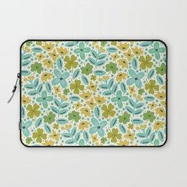 Clover & Floral Field Laptop Sleeve