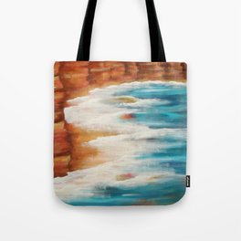 Moroccan Sea Spray Tote Bag