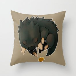 Petit Phorreur Deviendra Grand Throw Pillow