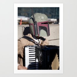 Didn't Quite Make the Auditions for the Cantina Band Art Print