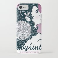 labyrinth iPhone & iPod Cases featuring Labyrinth by Yuri Meister