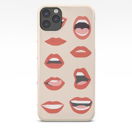 Lips III iPhone Case