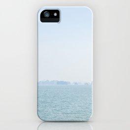 distant sea iPhone Case