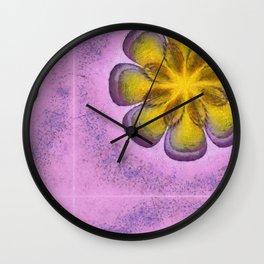 Koans Style Flowers  ID:16165-094811-95720 Wall Clock