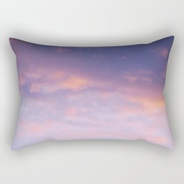Sunset clouds Rectangular Pillow