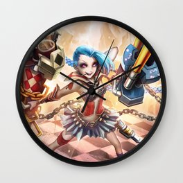 Top Jinx Wall Clock