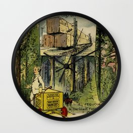 Seeing America First, With the Berry Brothers (1917) Wall Clock