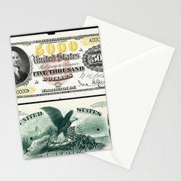 James Madison US 5000 (1878) Stationery Cards