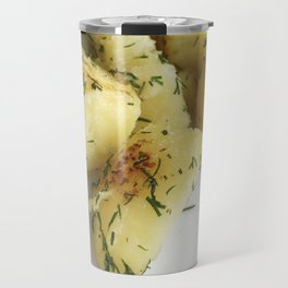Boiled Potato With Curd Travel Mug
