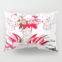 crazy chicken Pillow Sham