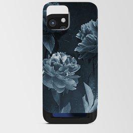 Blue Peonies iPhone Card Case