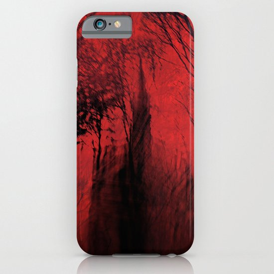 Blood red sky iPhone & iPod Case