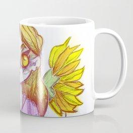 Sunflower Doll Coffee Mug