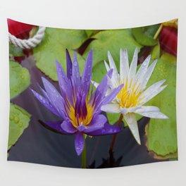 Loving Lotuses Wall Tapestry