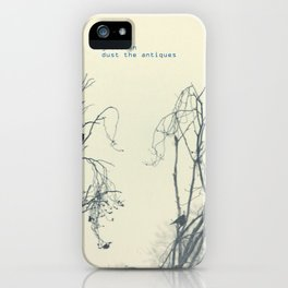 gretchen, dust the antiques iPhone Case