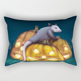 Autumn Decay Rectangular Pillow