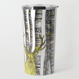 The Golden Stag Travel Mug