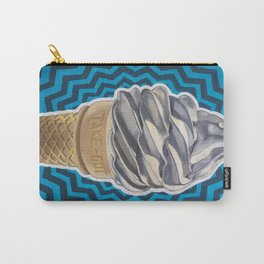 Ice Cream Soft-Serve Cone Carry-All Pouch
