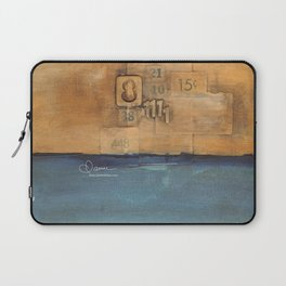 10x10 Series: Crazy 8 Laptop Sleeve