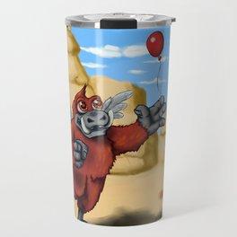 Winged Boar Demon Travel Mug