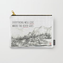 River of Living Water Carry-All Pouch