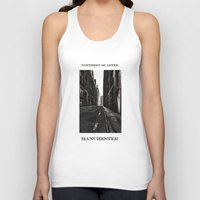 manchester Tank Tops featuring China Lane MANchester by inkedsandra