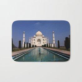 Taj Mahal Agra Indien Bath Mat