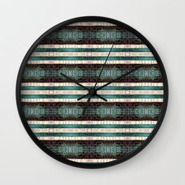 Vintage Striped Pattern - Westin Inspired Wall Clock