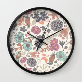 Silvestre Paradise Wall Clock