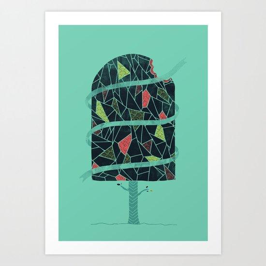The Winter Tree Art Print