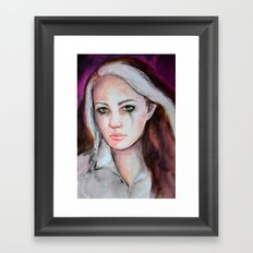 Rogue's Strenght Framed Art Print
