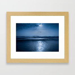 Blue symphony Framed Art Print