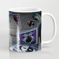 persona Mugs featuring Persona Tarot Cards by KeenaKorn
