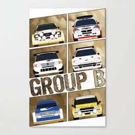 Group B Canvas Print
