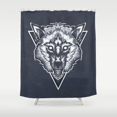 Wolf 2 Shower Curtain
