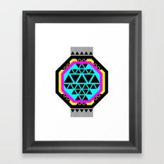 ::: Octagonal ::: Framed Art Print