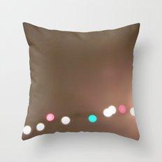Christmas Lights. Throw Pillow