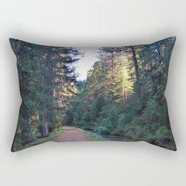 Along the Flume Rectangular Pillow