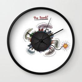 Earth is in danger! Wall Clock