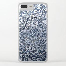 Organic Mandala Clear iPhone Case