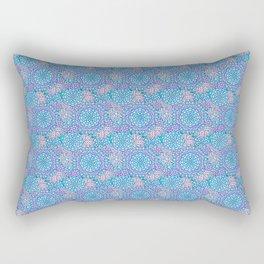 Winter Floral Rectangular Pillow
