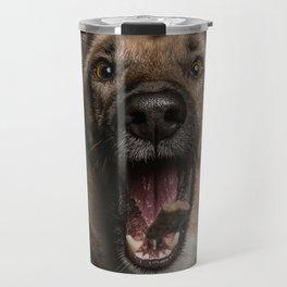 Happy Belgian shepherd Travel Mug