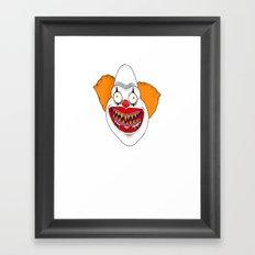 Cannibal Clown T-shirt Framed Art Print