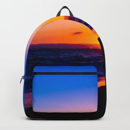 outstanding sunset Backpack