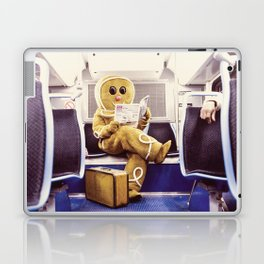 Gingerbread Man At Large Pt3 Laptop & iPad Skin