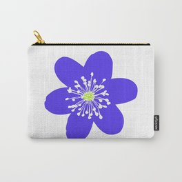 Flower Anemone Hepatica Carry-All Pouch