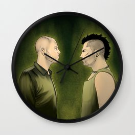 Gomorrah Wall Clock