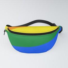 LGBTQ Heart Rainbow Fanny Pack