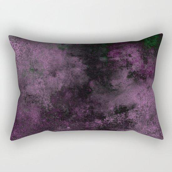 Dusk (Abstract, acrylic painting) Rectangular Pillow