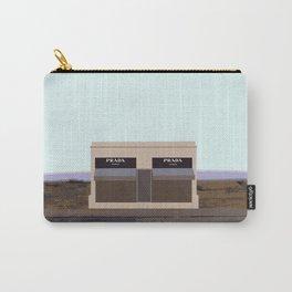 Marfa Installation: A digital illustration Carry-All Pouch